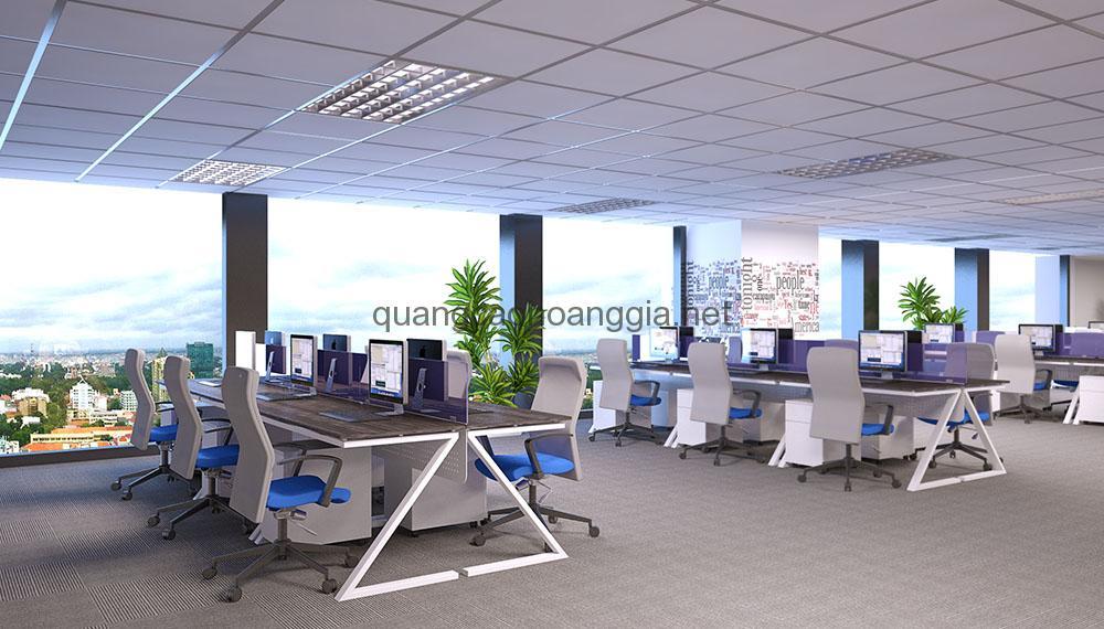 Thiết kế và thi công Nội Thất Văn phòng, Showroom, Nhà hàng