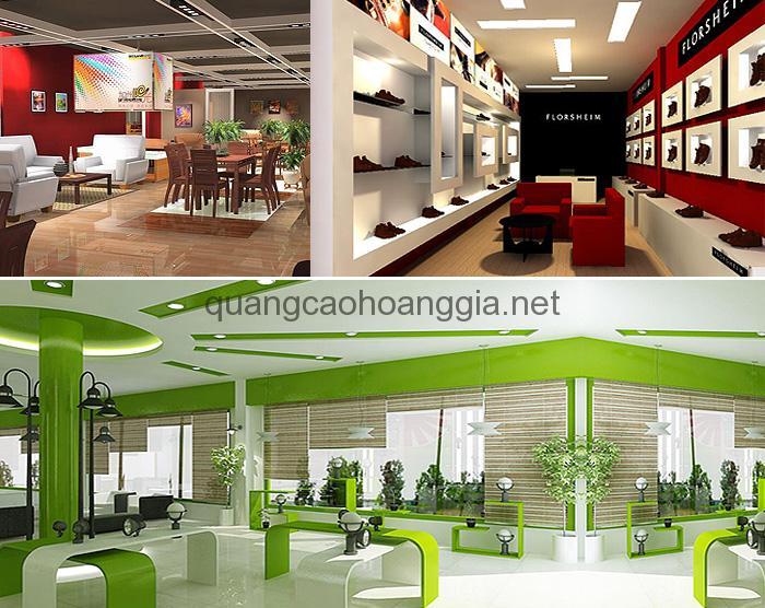 Thiết kế và thi công nội thất Showrooom